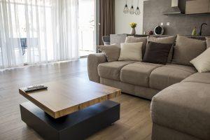 Obývačka - kuchyňa